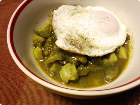ゴボウと馬鈴薯のスープ2