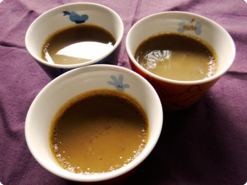黒糖豆乳プリン2