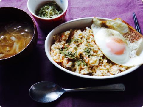 お昼ご飯20150527