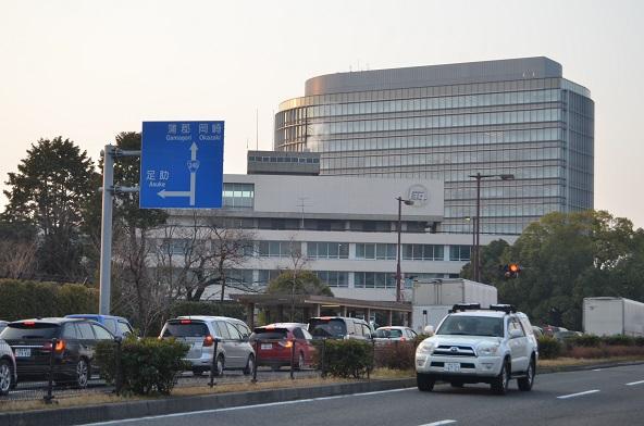 トヨタの新旧本社