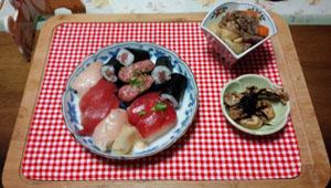 お寿司差し入れの日