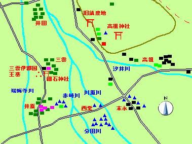 102話糸島市高祖・三雲付近図2