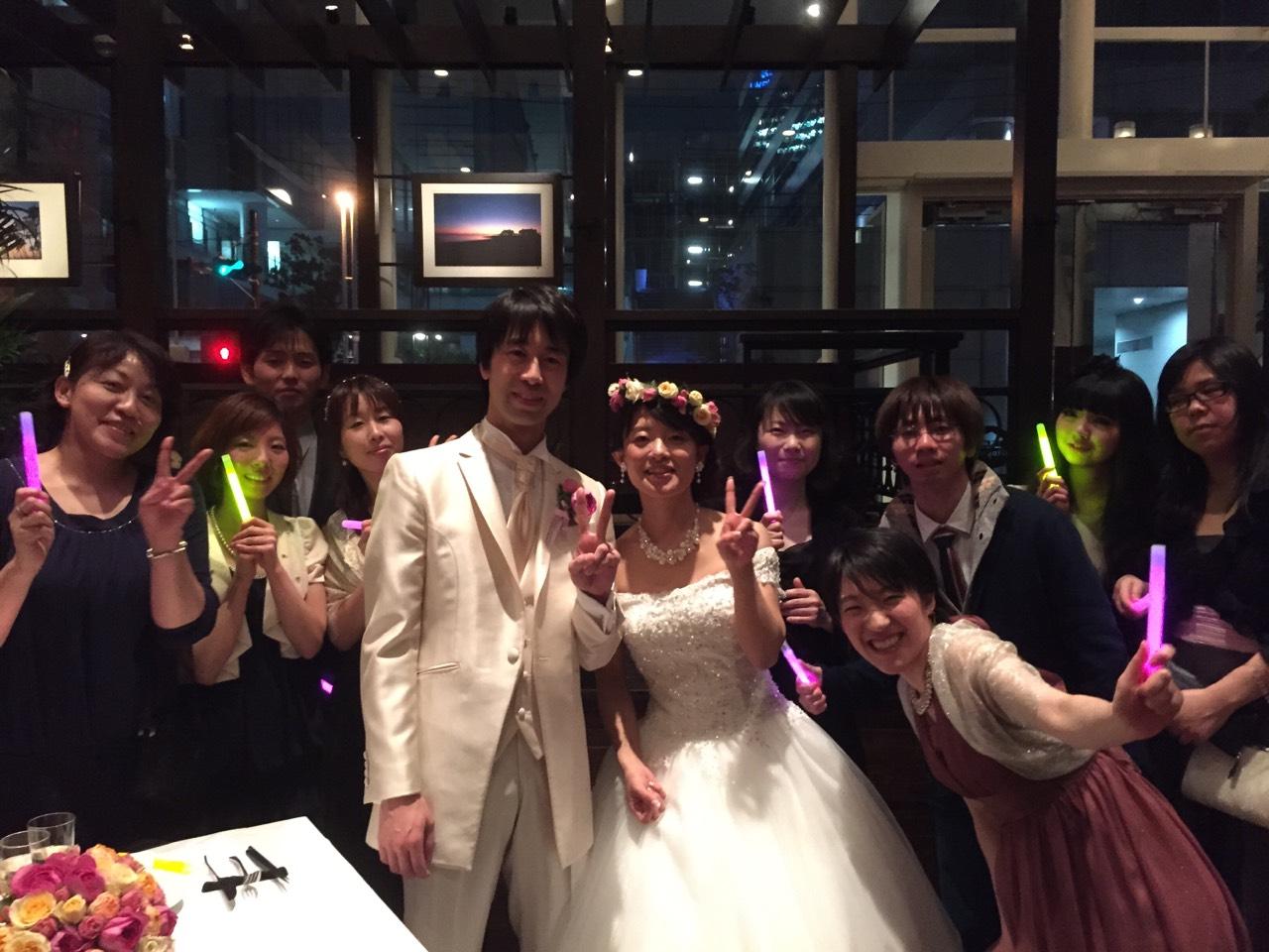 嶋村先生結婚式