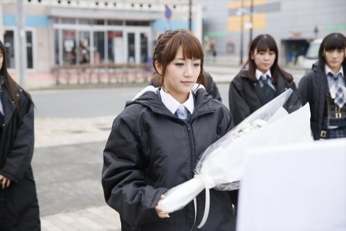 【AKB48】高橋みなみ 「偽善者と思われても、何もやらないよりはいい」 被災地訪問1