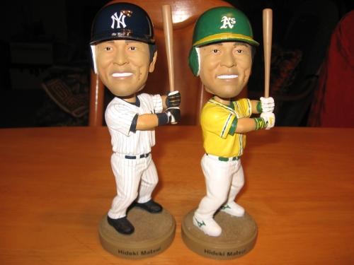 似ていない? ヤンキース公式ツイッター、田中将大のバブルヘッド人形の写真を公開4