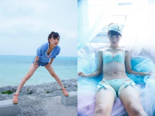 「仮面ライダードライブ」ヒロインの下着姿にドキ!内田理央(23)が写真集「Magical」を発売1