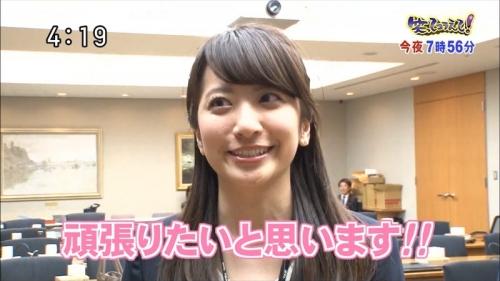 元ホステスの日テレ笹崎里菜アナ 、テレビデビュー2