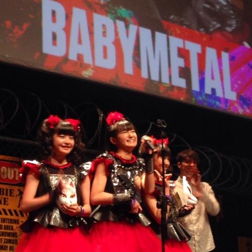 BABYMETAL、英国音楽誌「KERRANG!」主催の「KERRANG! AWARDS 2015」で日本人初受賞5