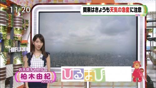 【AKB48】ゆきりんこと柏木由紀『ひるおび!』天気コーナーに生出演 「表情硬い」「痩せた」の声7