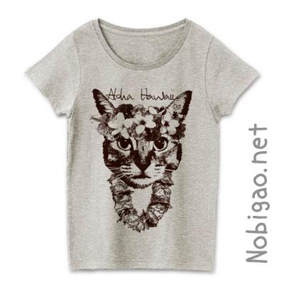 nobigao アロハ猫Tシャツ
