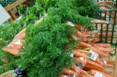 お野菜、たくさん買ってきてね♪