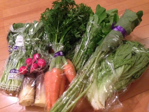 たっぷりお野菜?