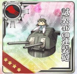 試製46㎝連装砲