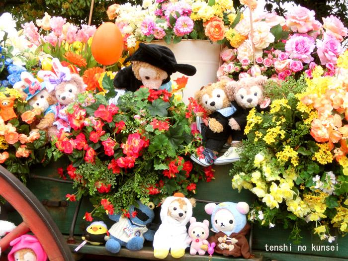 アメフロ集合写真3(お花馬車