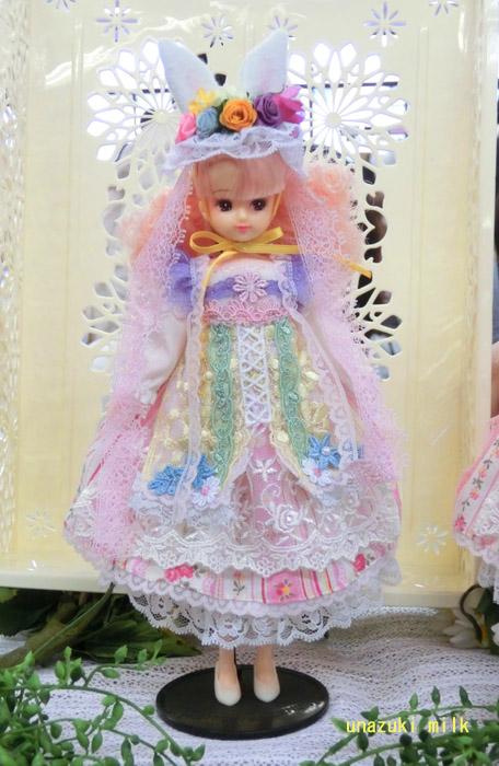 リカ人形付き