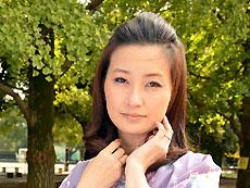 【無修正】【中出し】和服美人妻とベランダで見せ付けファック  菊川亜美