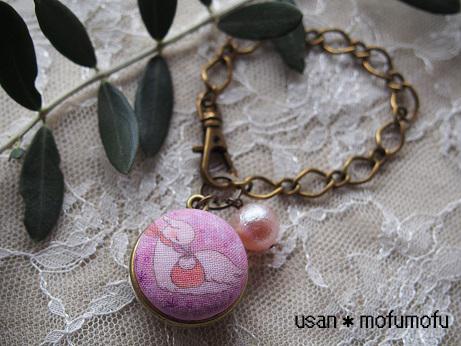 ねんねこうのとりピンク写真1