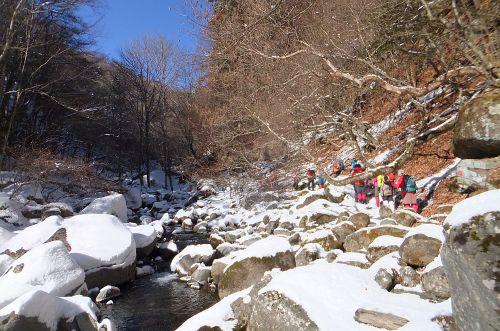川俣渓谷を歩く
