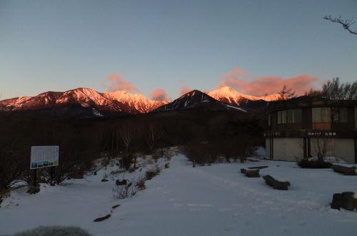 八ヶ岳朝焼け2