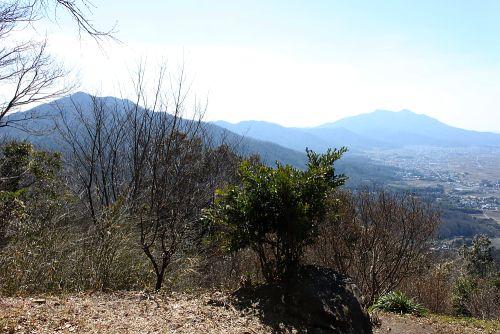 加波山と筑波山