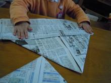 子育てとお仕事+手作り講座も楽しむハッピーライフ♪-忍者帽2