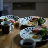 お借り画像。朝食?