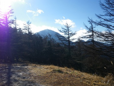 蛭ヶ岳の雲が取れた
