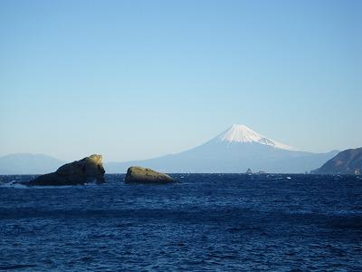 雲見からの富士山