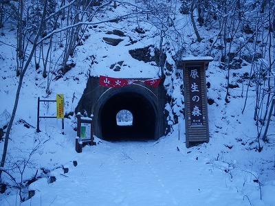 大山沢へ入る