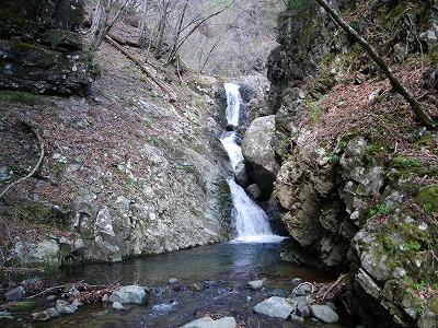 三段ナメ滝