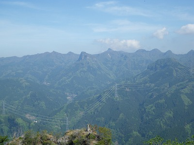 ドロミテの山々