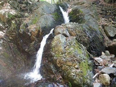 ネジレた滝