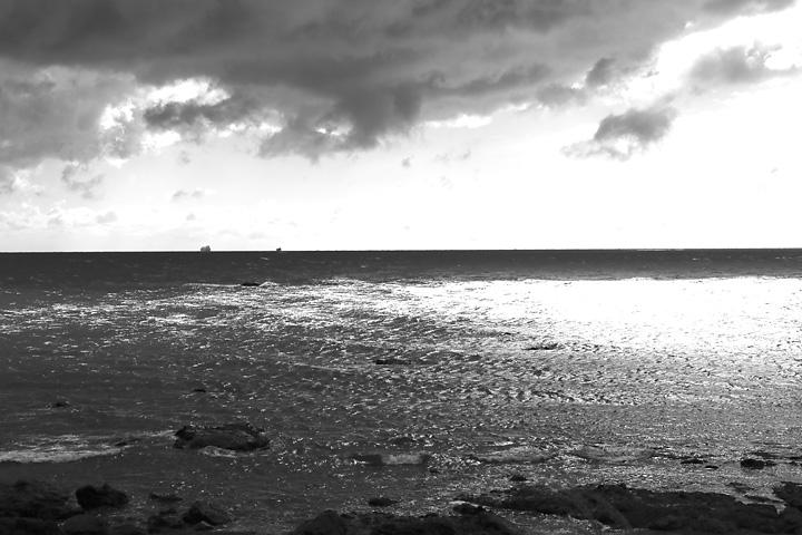 モノクロ海