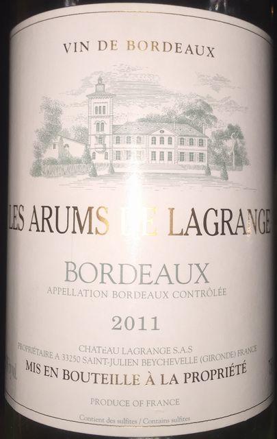 Les Arums Le Lagrange 2011