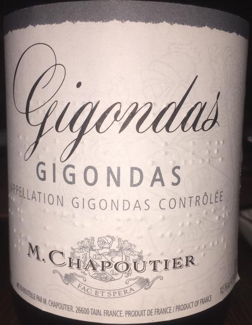 Gigondas M Chapoutier