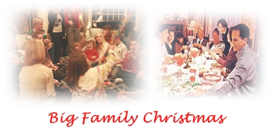 big family christmas