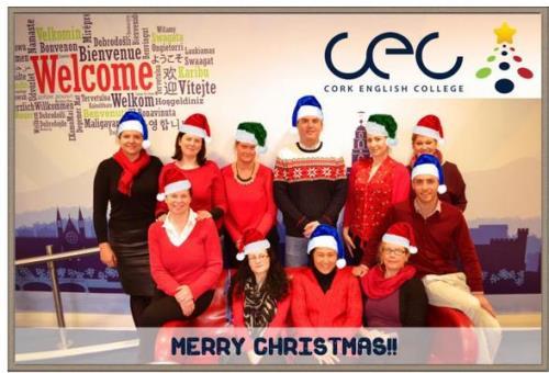 Cork English school Christmas  2014