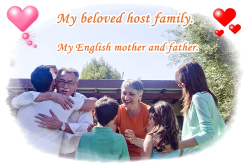 Home stay yuriko english mother and father