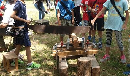 P5310129 (2)子ども木挽き