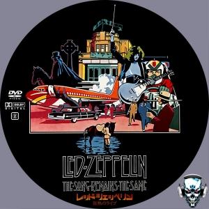 レッド・ツェッペリン 狂熱のライブ DVDラベル - ワールズ・エンド World's End / Custom DVD Labels