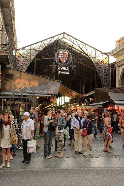 サンジョセップ市場入口
