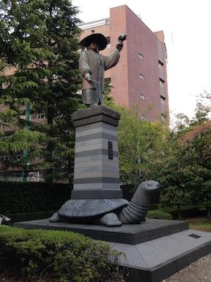 家康像_江戸東京博物館