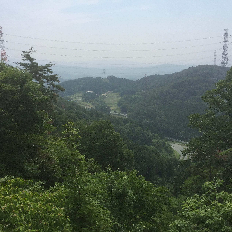 天狗岩コースからの絶景