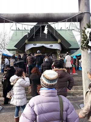 2015年鳥取神社初詣