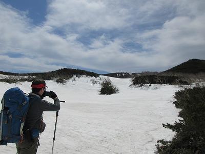 天頂山火山群A,B湖
