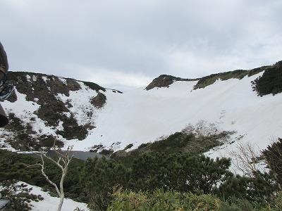 天頂山火山群C湖