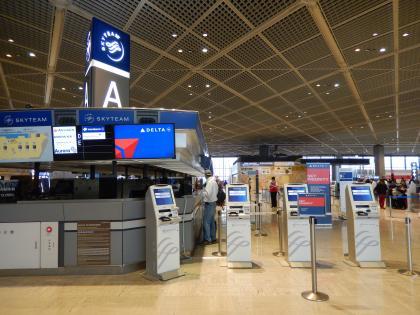 バンコク2015.4成田空港
