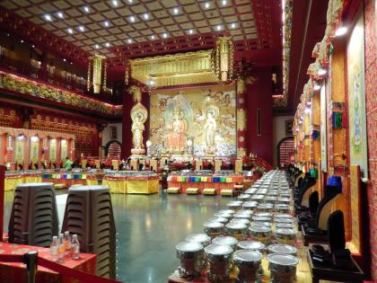 シンガポール2014.11チャイナタウン・仏牙寺