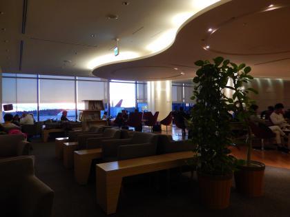 シンガポール2015.2成田空港大韓航空ラウンジ