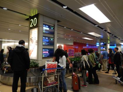 シンガポール2015.2チャンギ空港到着